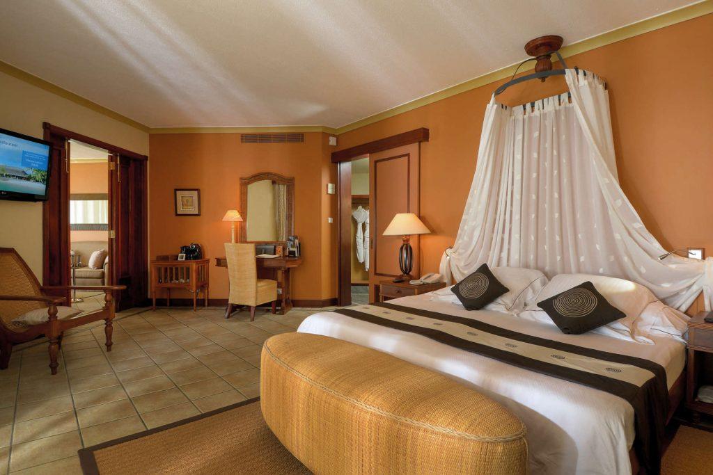 Das luxuriöse Schlafzimmer der Senior Suite